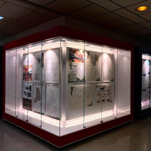 Exposition - vitrines
