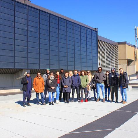 Visite du mur solaire du Cégep