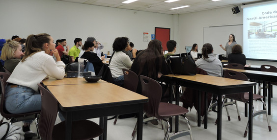 Conférence en classe