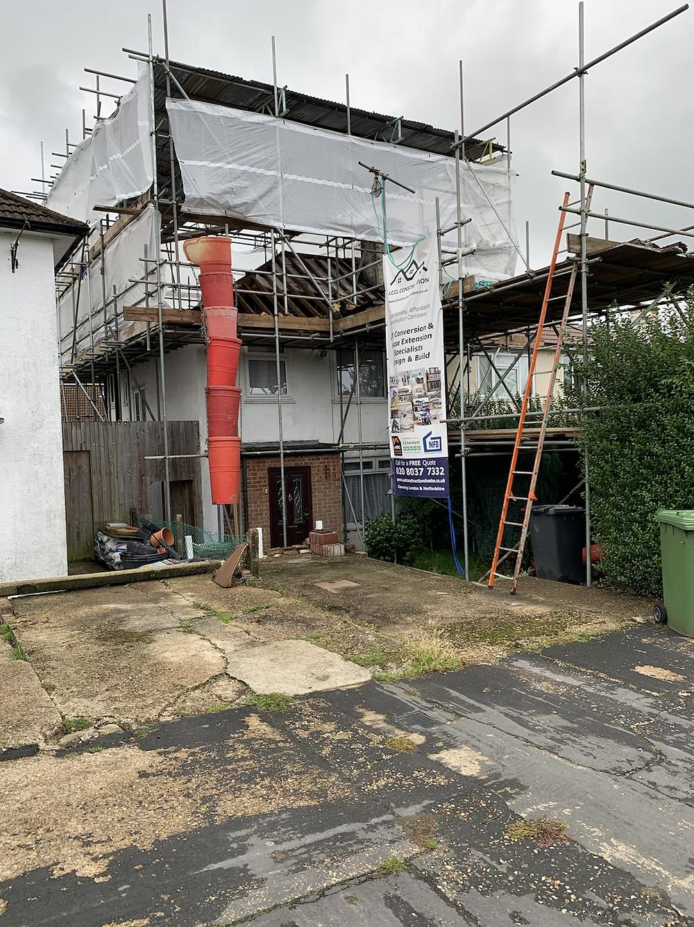 Loft conversion design and build Borehamwood, WD6 Hertfordshire