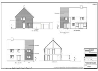 Two storey side home extension architectural design services Welwyn Garden City AL7 Hertfordshire