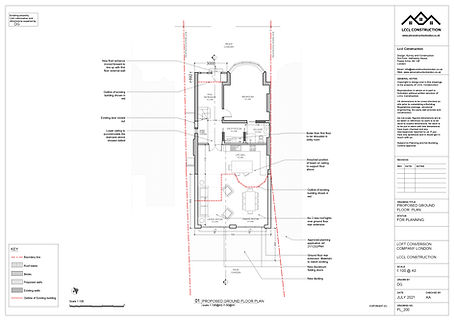 Architecture Services Holmwood Gardens Finchley North London N3