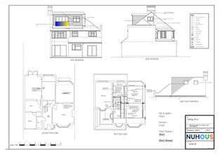 Architecture proposed loft conversion Ealing