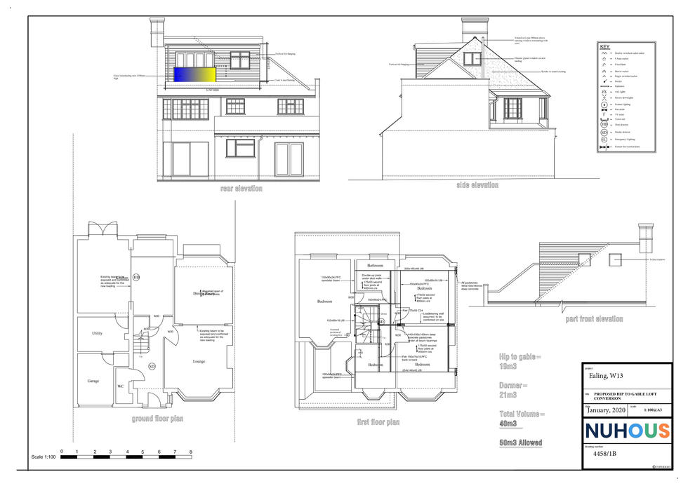 Architecture-proposed-hip-to-gable-loft-