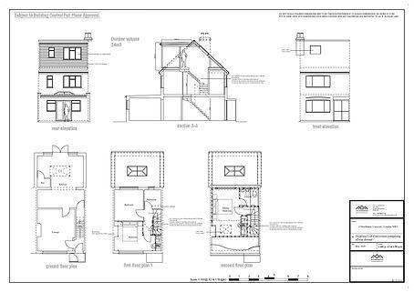 Architectural designer services Cricklewood, London, NW2 Loft Conversion