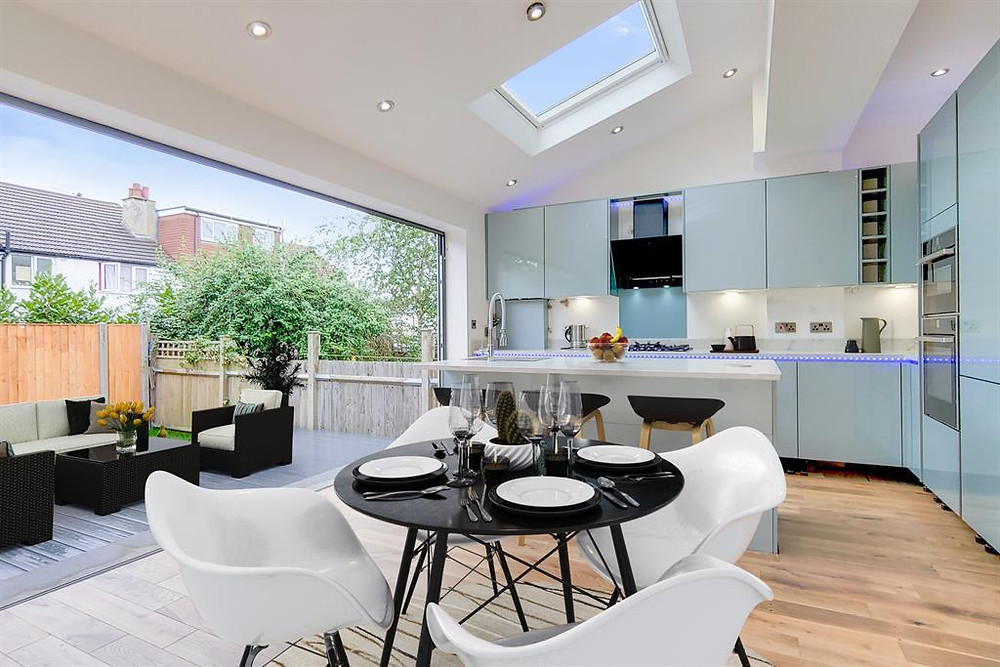 Rear House Extension Kitchen
