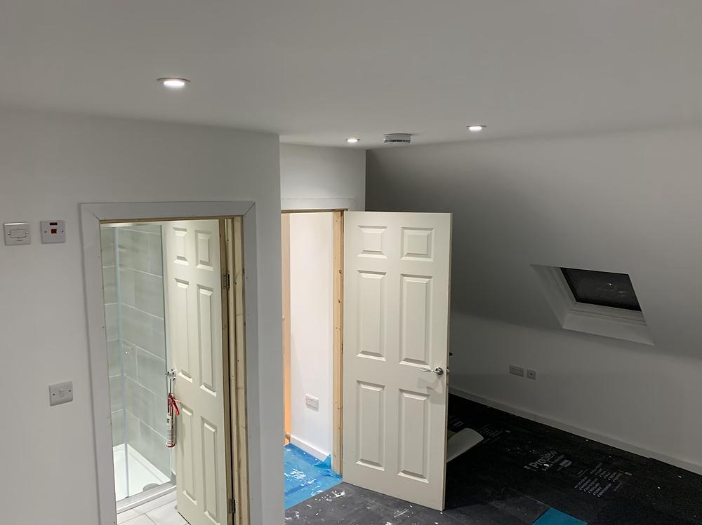 Dormer loft conversion Cricklewood NW2 London Internal Finish