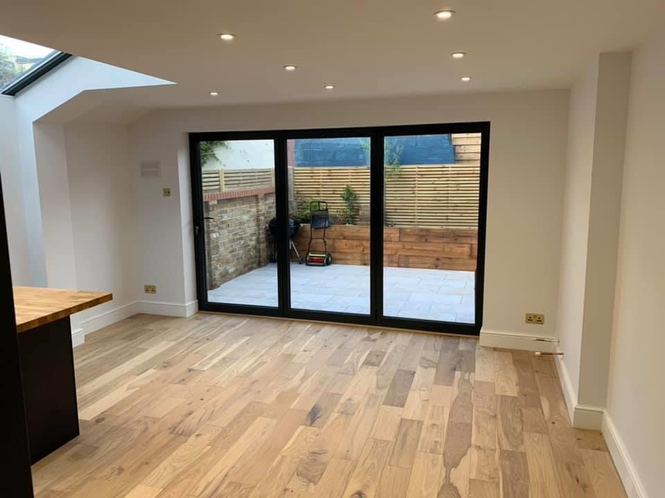 Bi-fold doors towards the rear
