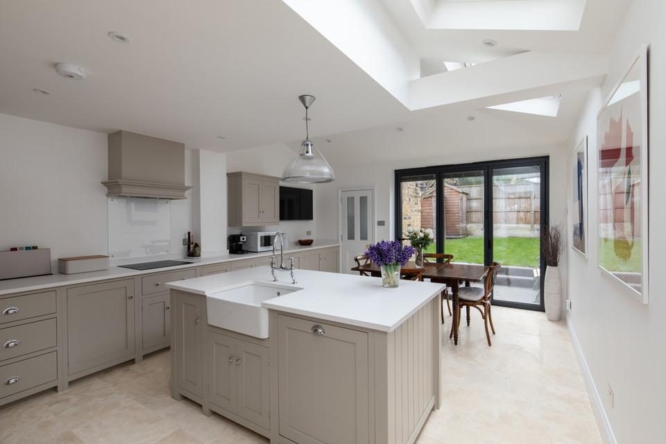 Wraparound House Extension ExternWraparound House Extension With Kitchen and Open Plan al Elevation