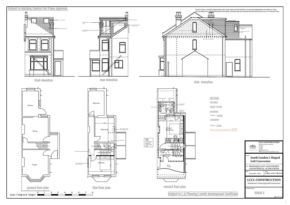 Architectural drawings designed by Lccl Construction