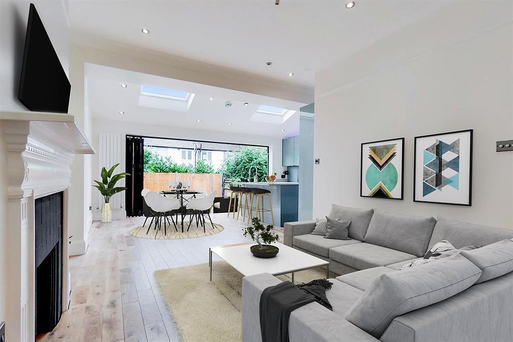 Rear House Extension Open Plan