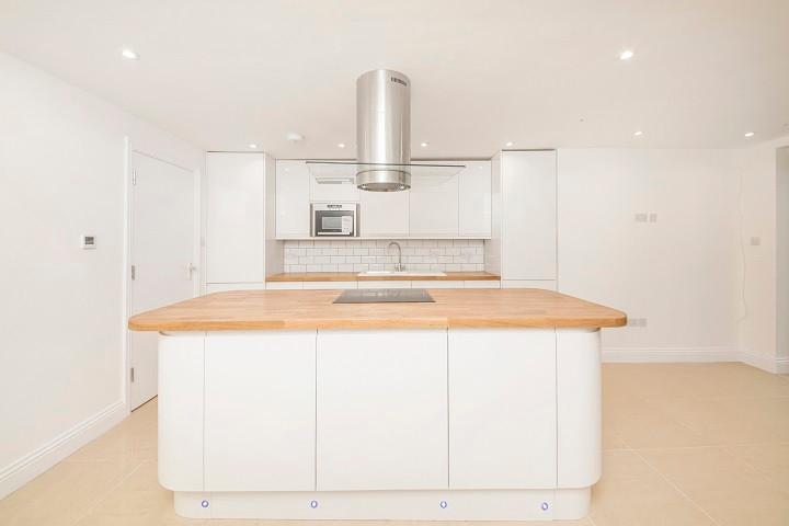 Wraparound Rear House Extension Kitchen