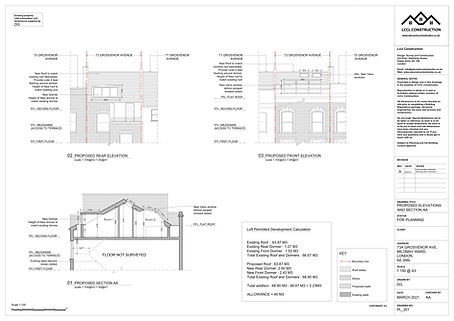 Architecture Services Grosvenor Avenue Islington