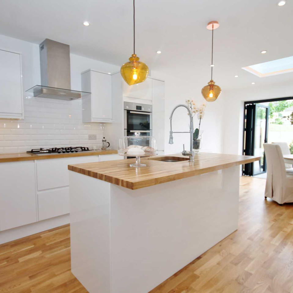 Kitchen Extension and Loft Conversion Wo