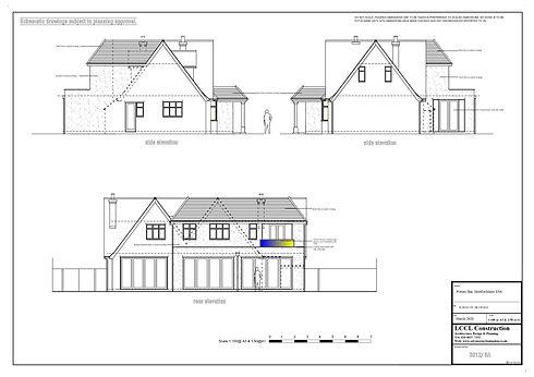Architecture for new build home scheme