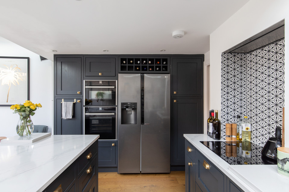 Wraparound House Extension With Kitchen Open Plan