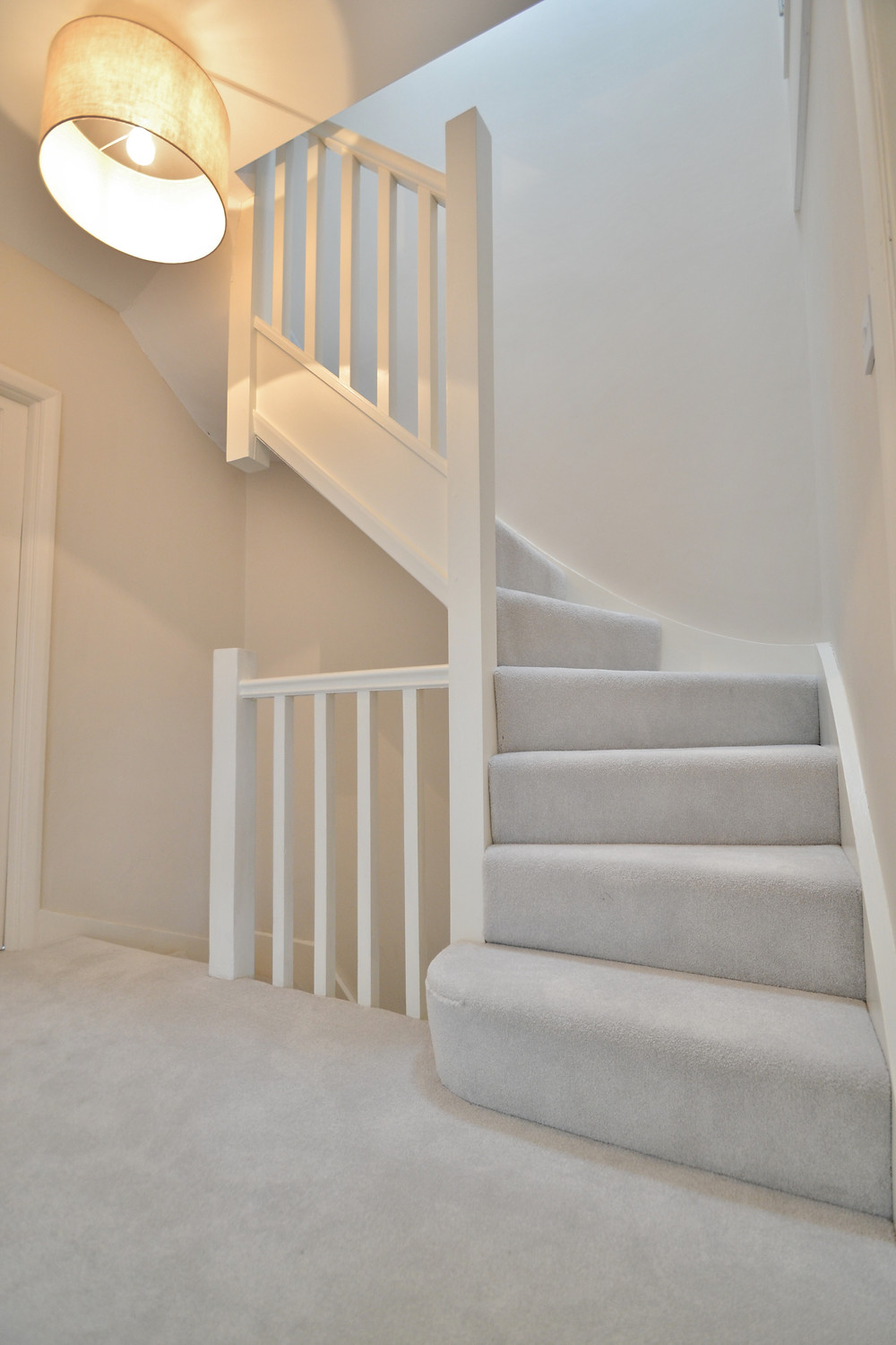 Loft Conversion Project Construction Company Project East Barnet - Hertfordshire - Stairs To The Loft