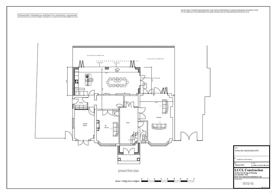 Architecture Services in Potters Bar