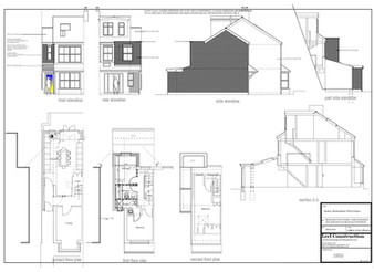 Architectural Design Services Bushey - Hertfordshire WD23 Project