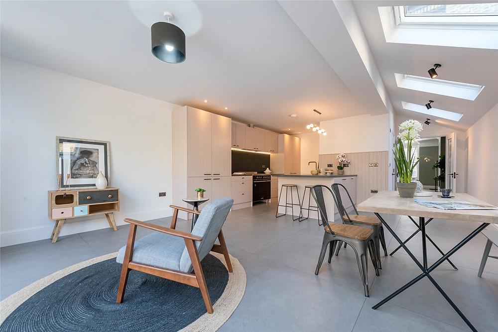 Wraparound home extension London