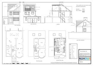 Architecture Proposed Loft Conversion East Finchley