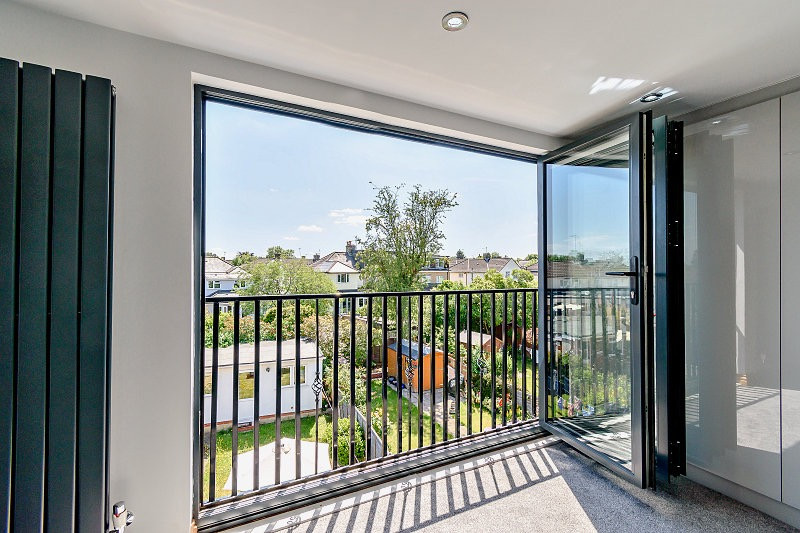 Loft conversion sliding doors for project North Finchley London