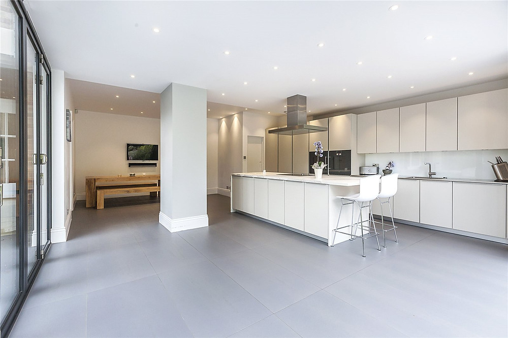 Rear House Extension With New Kitchen