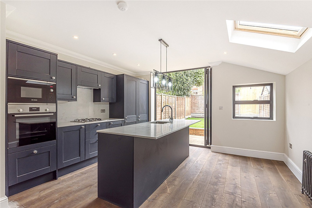 Open Plan Kitchen and Dining House Extension Wandsworth London SW10