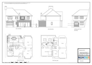 Architecture rear home extension Mill Hill