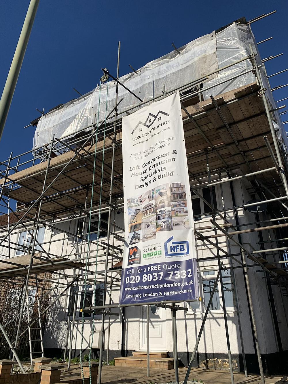 Loft conversion in Barnet North London
