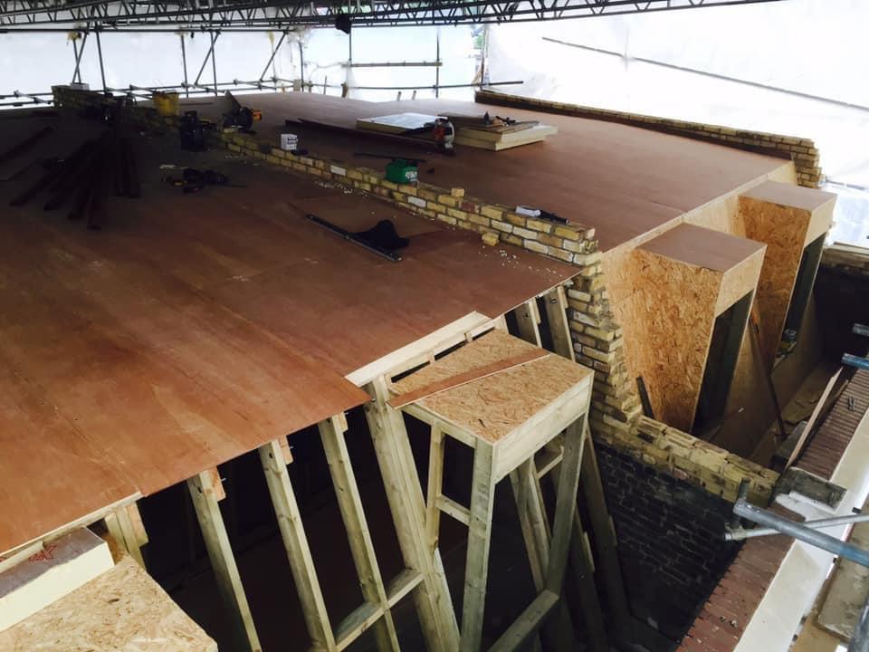 Mansard loft conversion design and build
