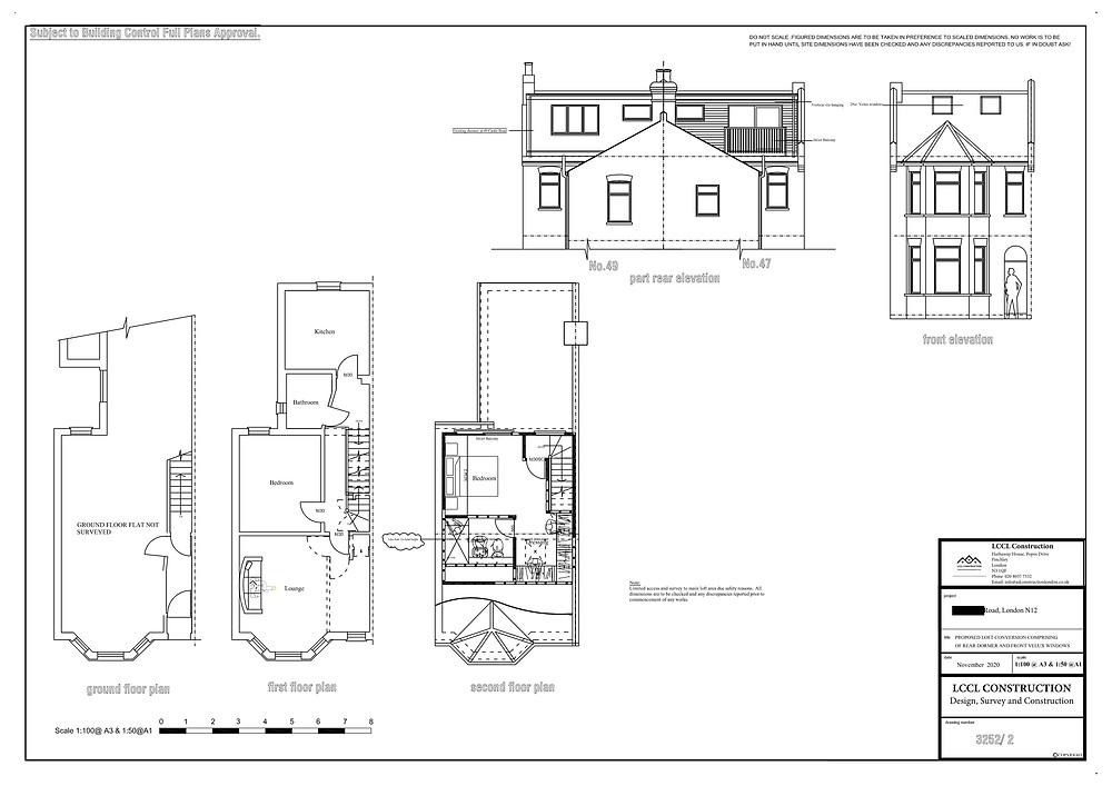 Loft conversion design and build North Finchley N3 London