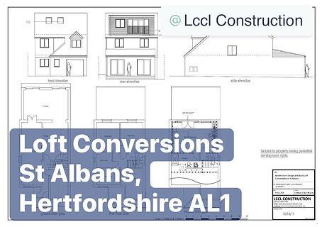 Loft Conversion Project St Albans Hertfordshire AL1