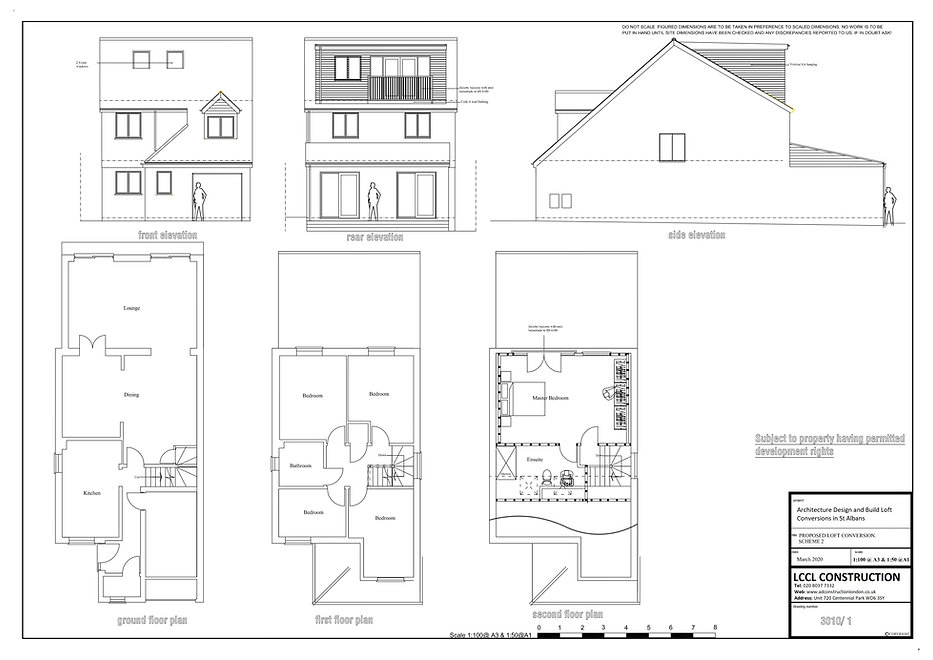 Architecture Design Build Loft Conversions