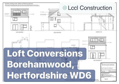 Loft Conversion Borehamwood, Hertfordshire WD6