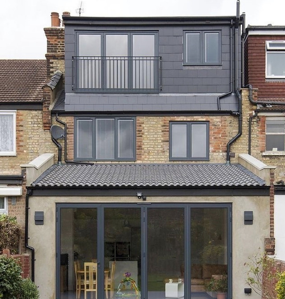 Loft conversion company design and build in East Barnet