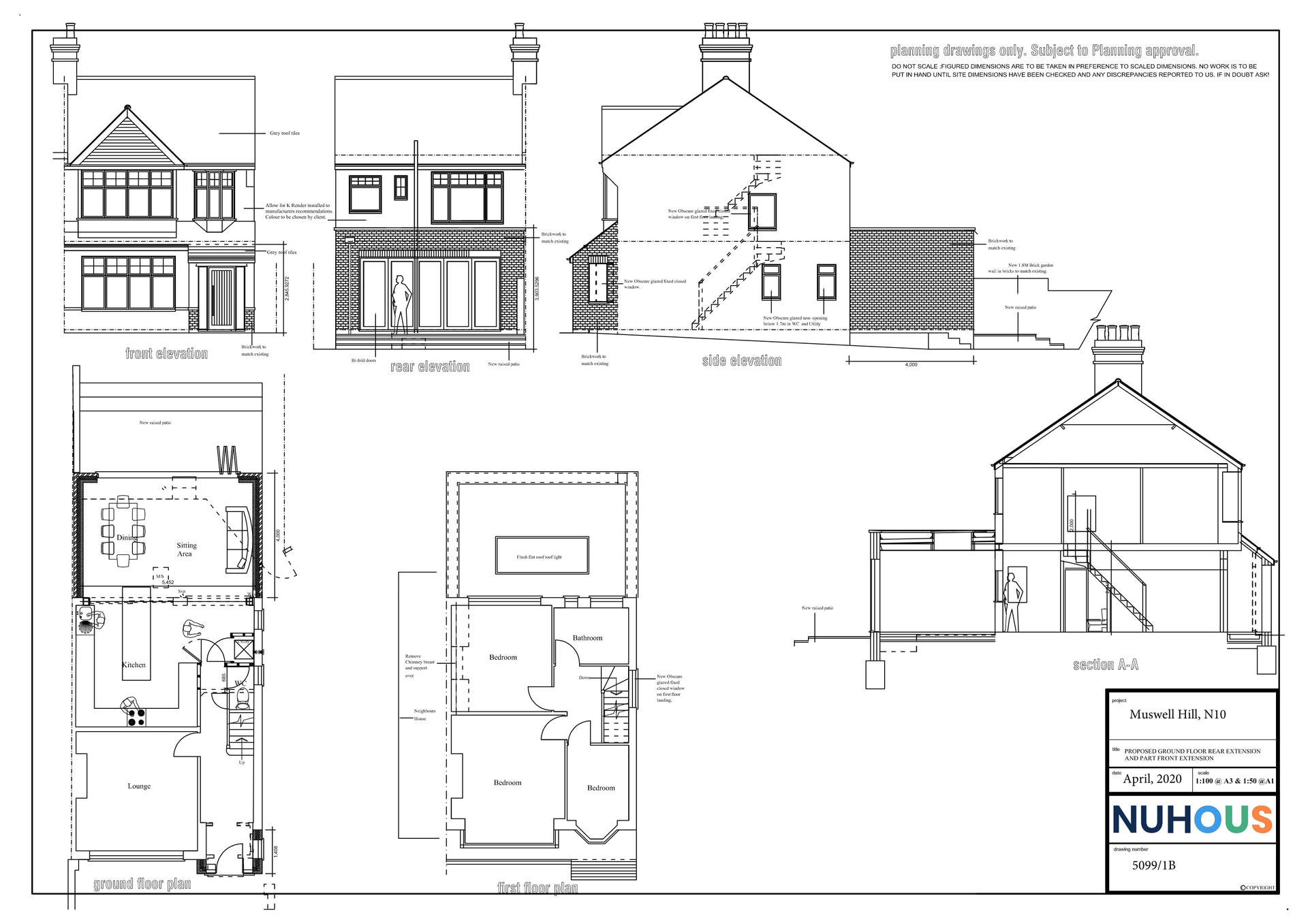 Architecture Rear Home Extension Muswell Hill N10