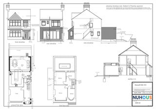 Architecture home extension Muswell Hill