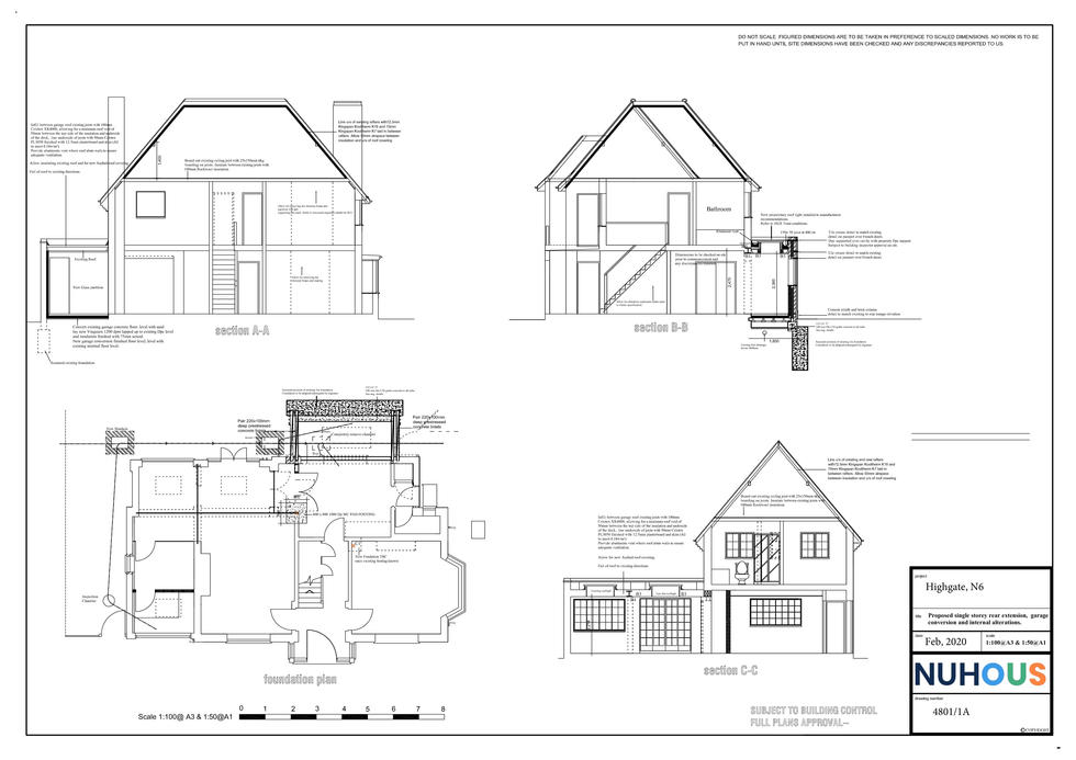 Architecture Home Extension Highgate N6 London