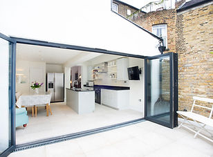 rear single storey house extension