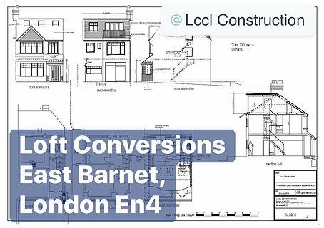 Loft Conversion and House Extension Project East Barnet London EN4