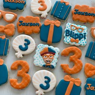 Blippi Birthday Cookies | Simply Renee Sweets