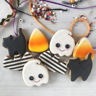 2018 Halloween Decorated Cookies