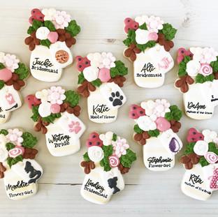 Bridal Party Cookies | Simply Renee Sweets
