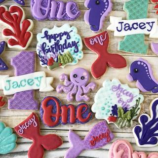 Jacey Mermaid Birthday Cookies | Simply Renee Sweets