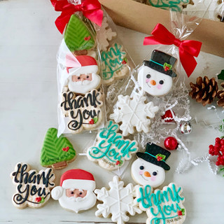 Parks Christmas gifts Decorated Cookies