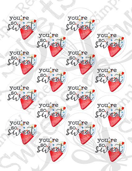 You're So Sweet Tag Printable