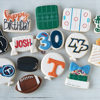 Sports Theme Birthday Cookies | Simply Renee Sweets
