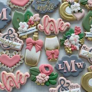 Marley Wedding Cookies | Simply Renee Sweets