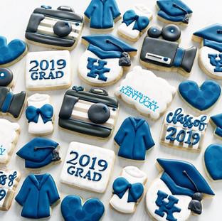 UK Graduation Cookies   Simply Renee Sweets